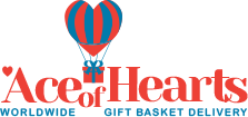 Ace of Hearts Gift Baskets - Worldwide Hamper Delivery